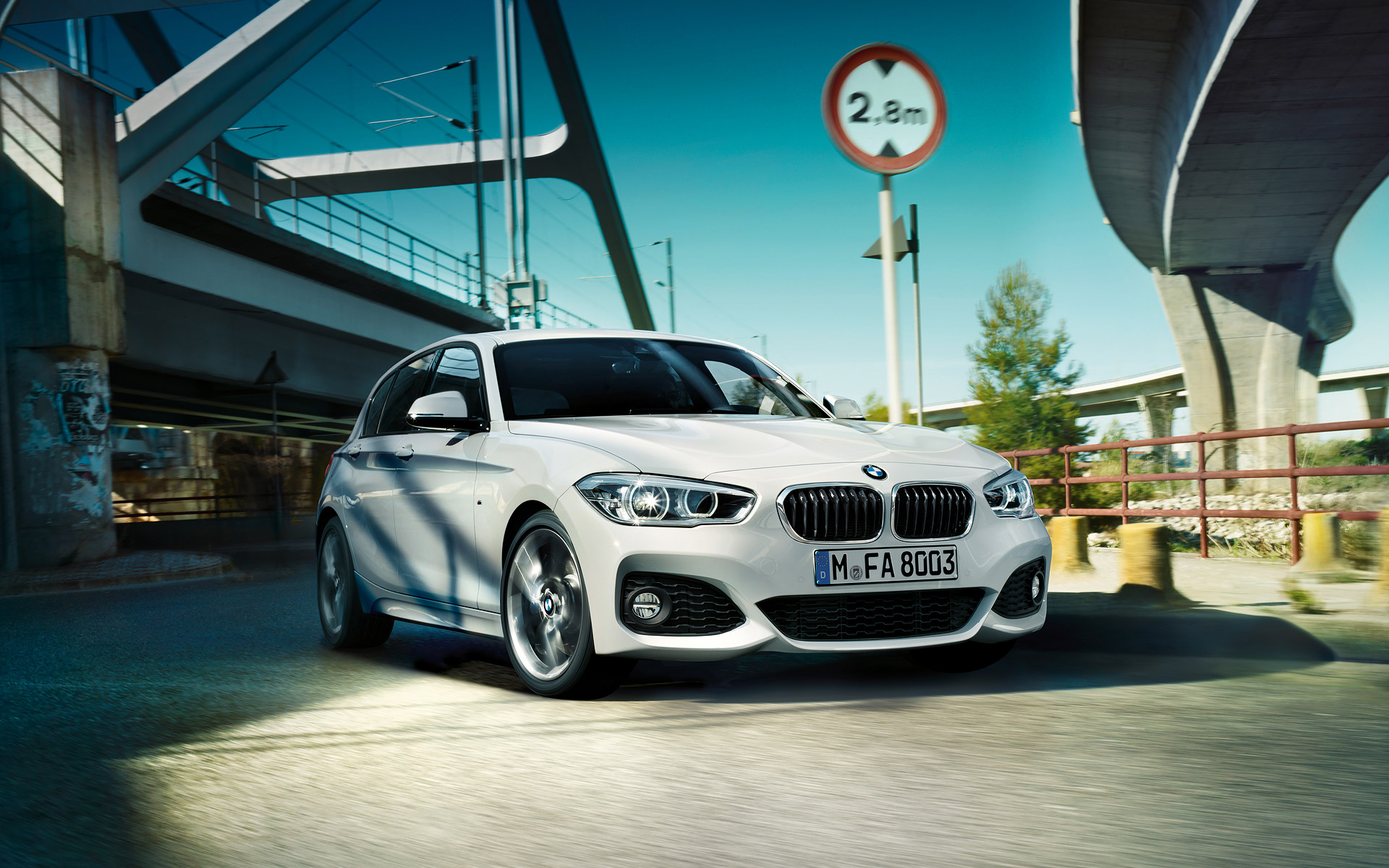 BMW 1 Series 5 Doors Exterior Design