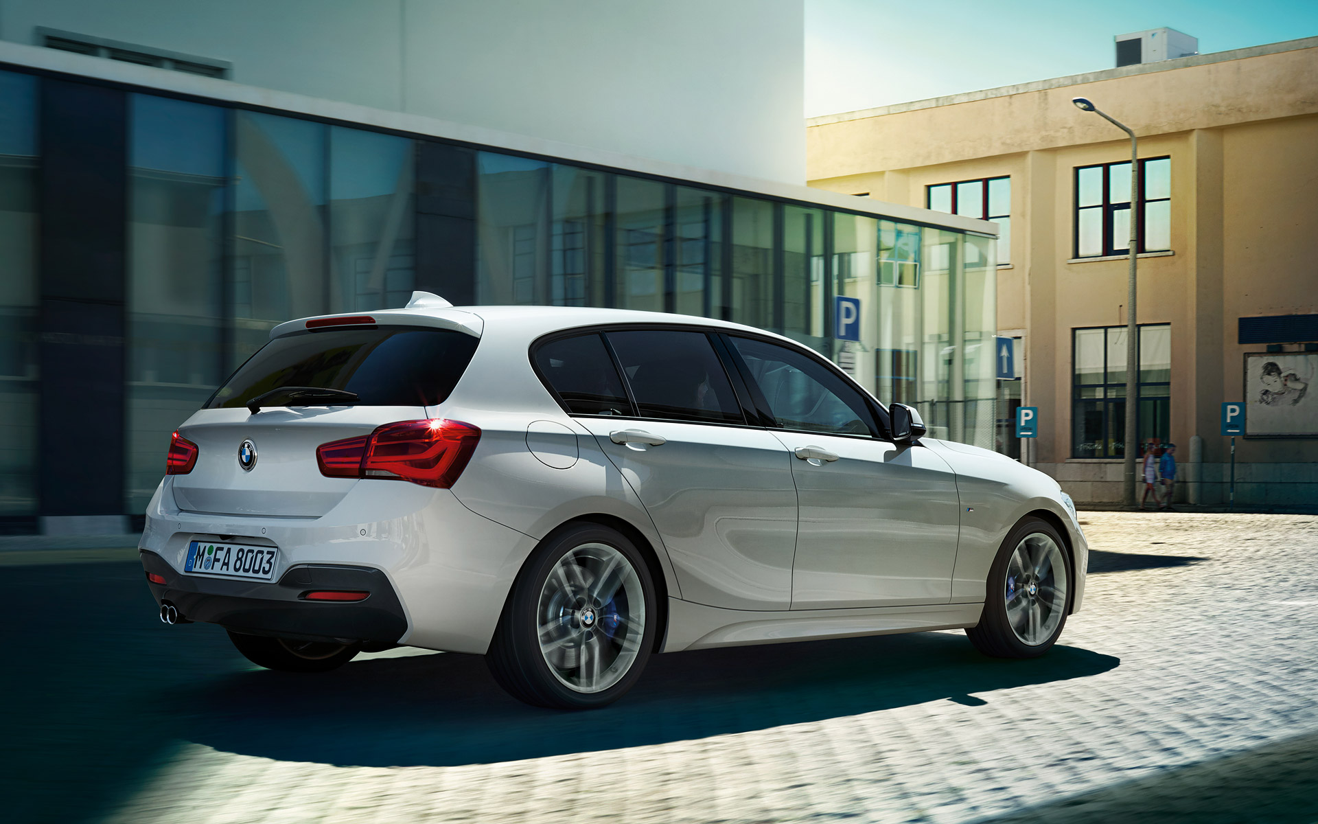 BMW 1 Series 5 Door Exterior Design