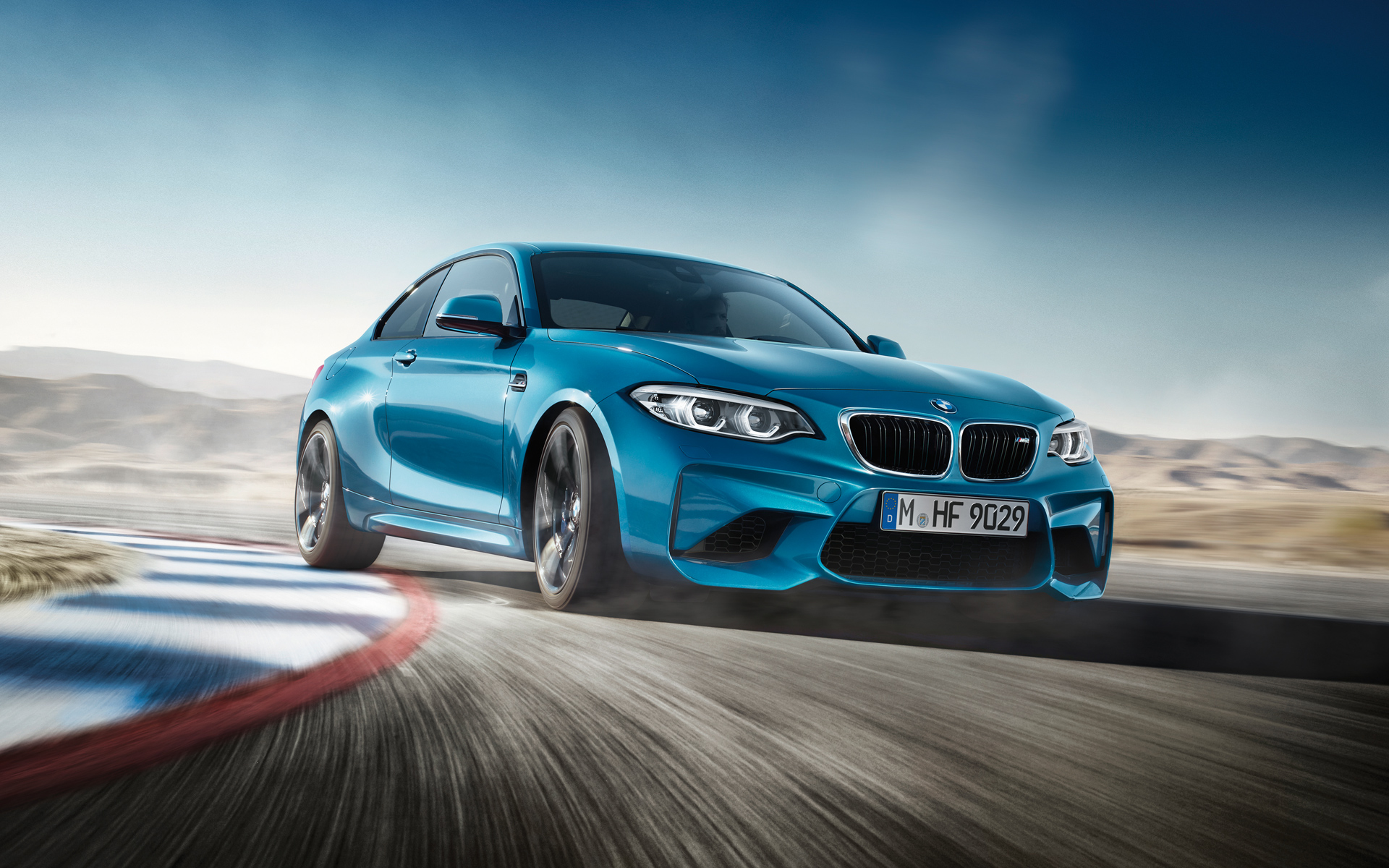 BMW M Series M2 Coupe Sports car on Road