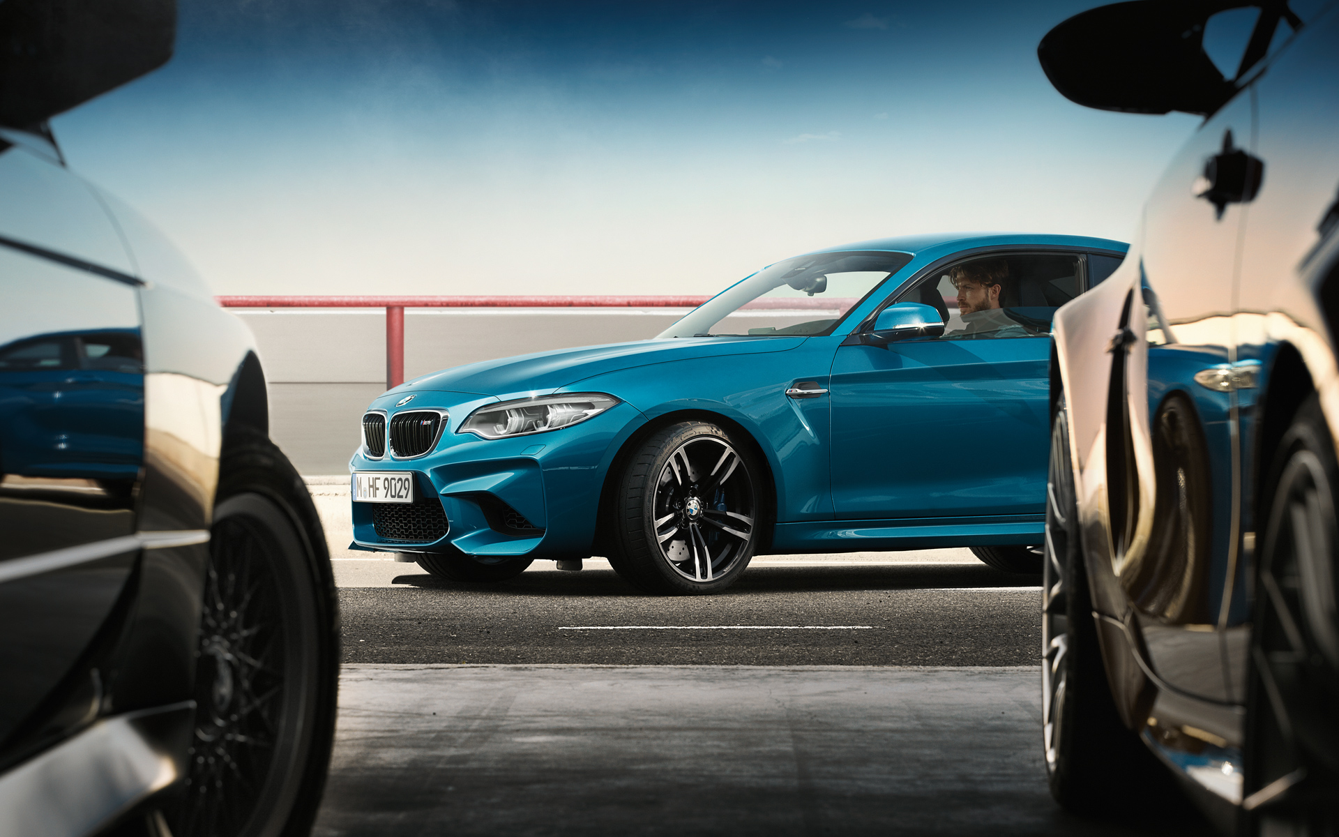 Driving BMW M2 Coupe on Road