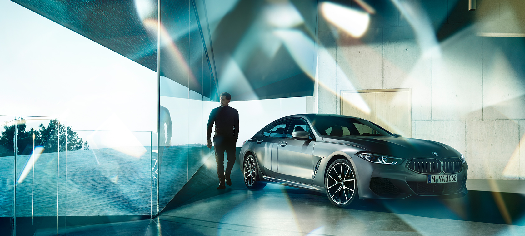 BMW M850i xDrive Gran Coupé, design, inspire
