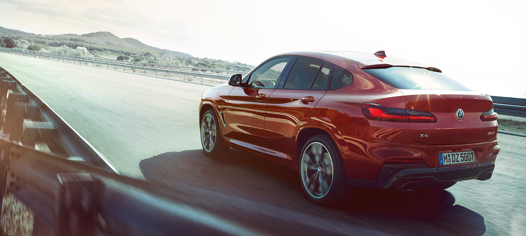 The new BMW X4.