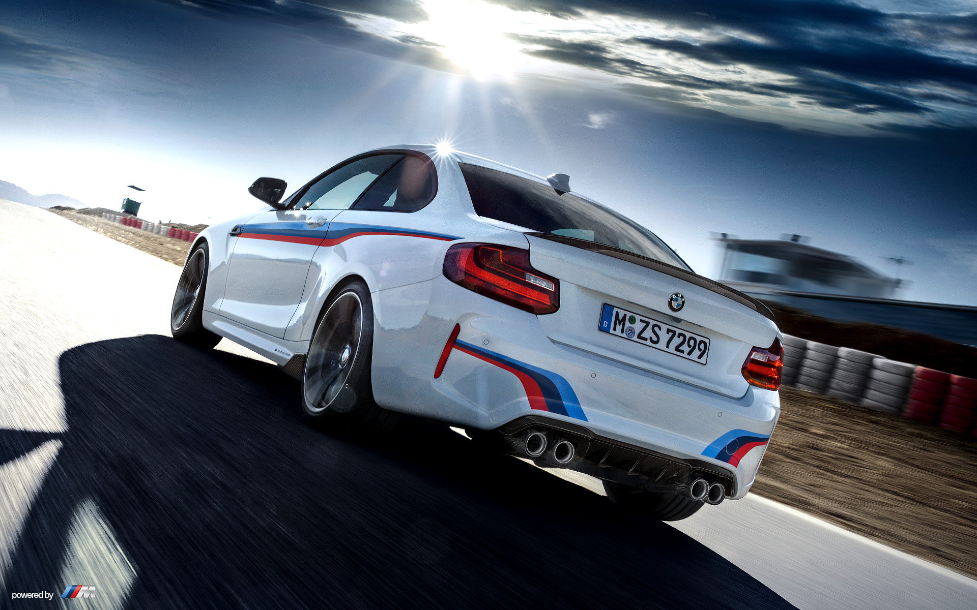 BMW M2 Coupe on Track